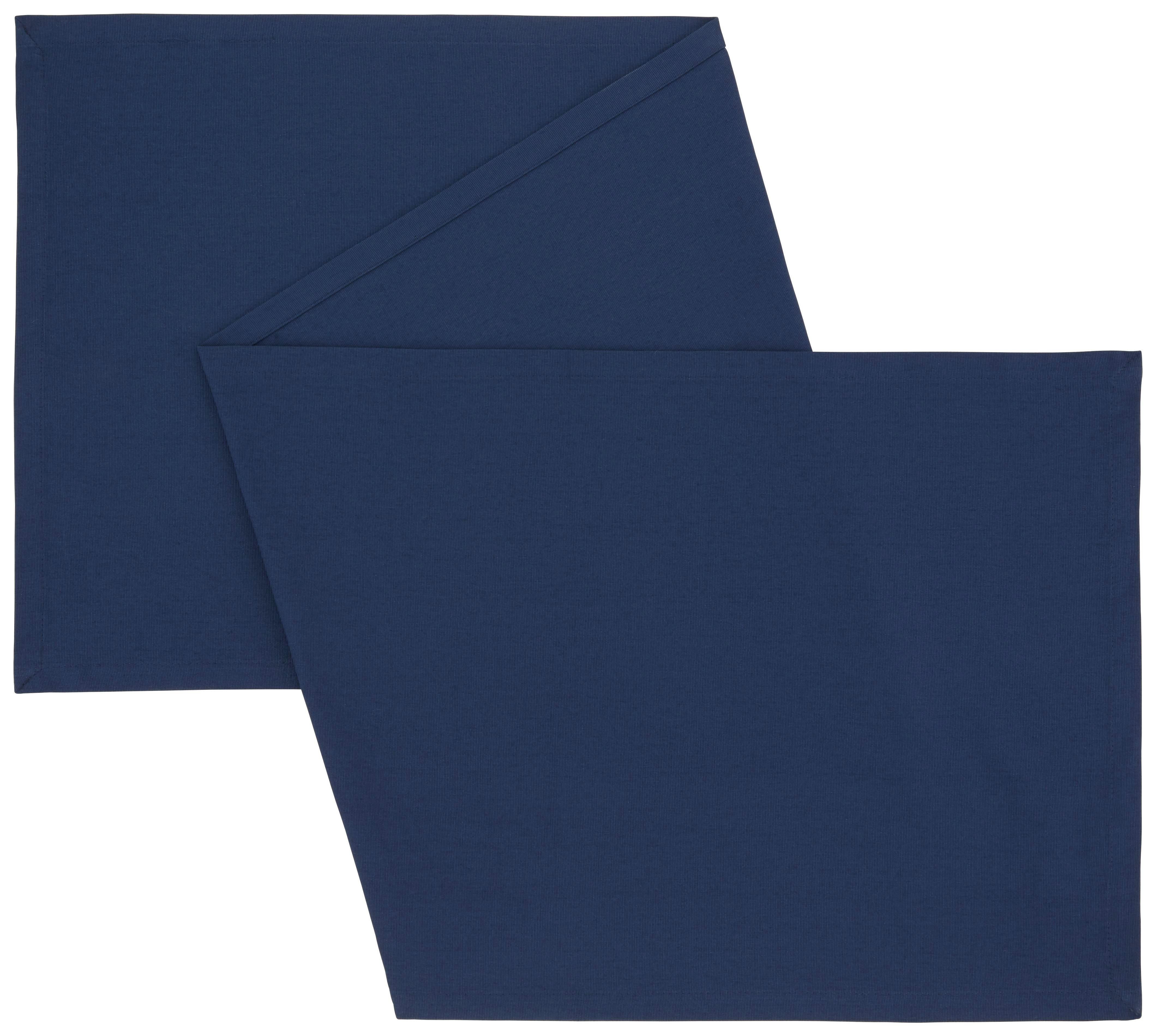 Nadprt Steffi - temno modra, tekstil (45/150cm) - MÖMAX modern living