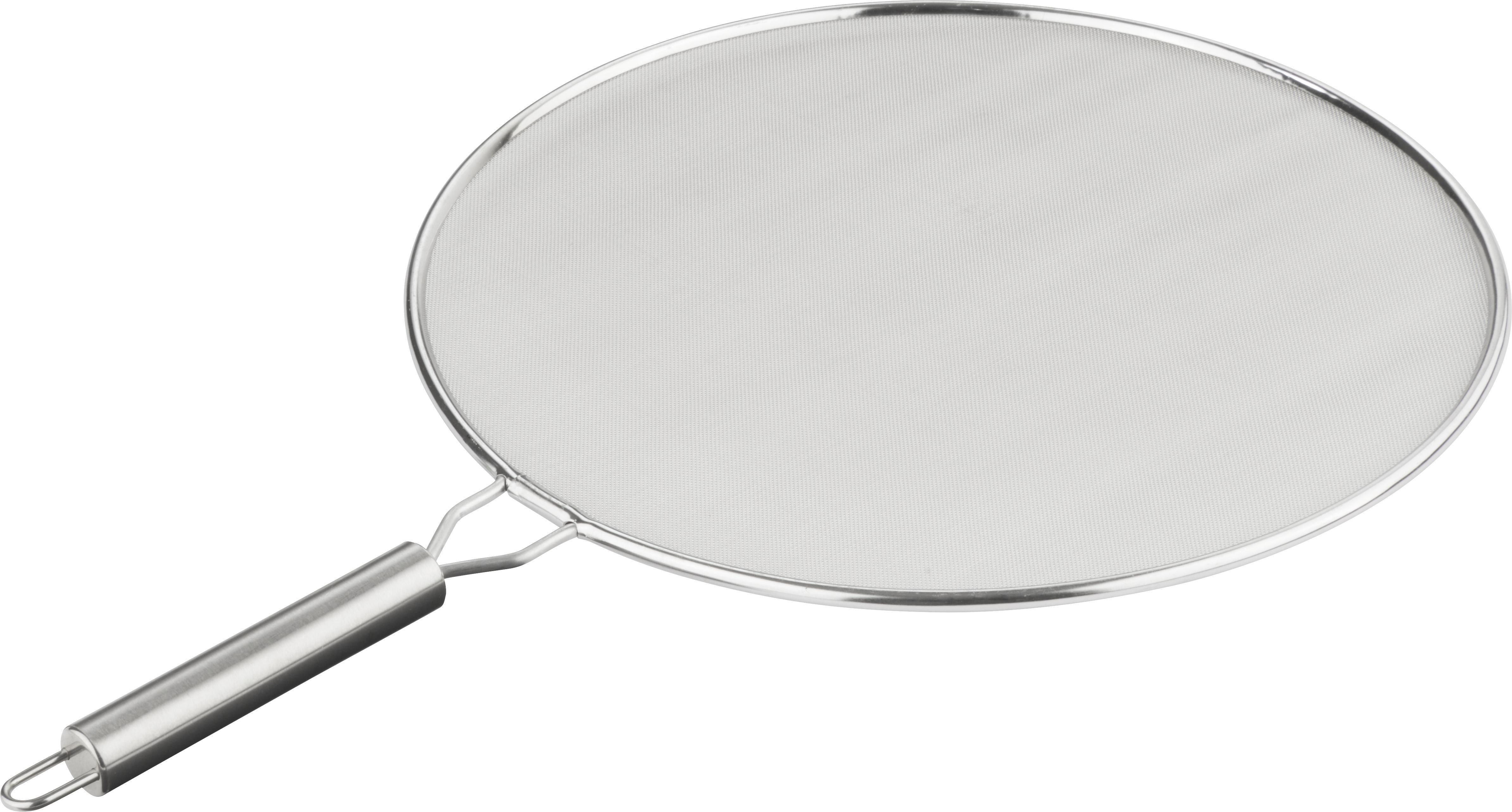 Spritzschutz Mika in Silber, ca. 29cm - Edelstahlfarben, Metall (29cm) - MÖMAX modern living