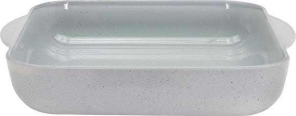 Auflaufform Sharon in Grau - Grau, Glas (31,8/28,3/6cm) - MÖMAX modern living