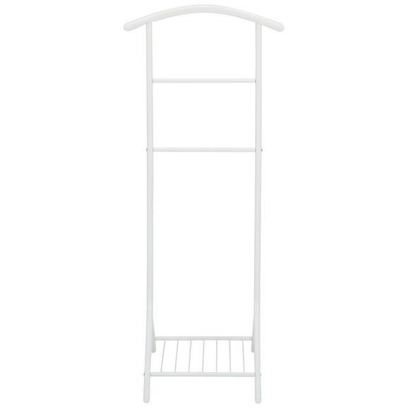 Herrendiener in Weiß - Weiß, MODERN, Metall (47/112/41cm) - Mömax modern living