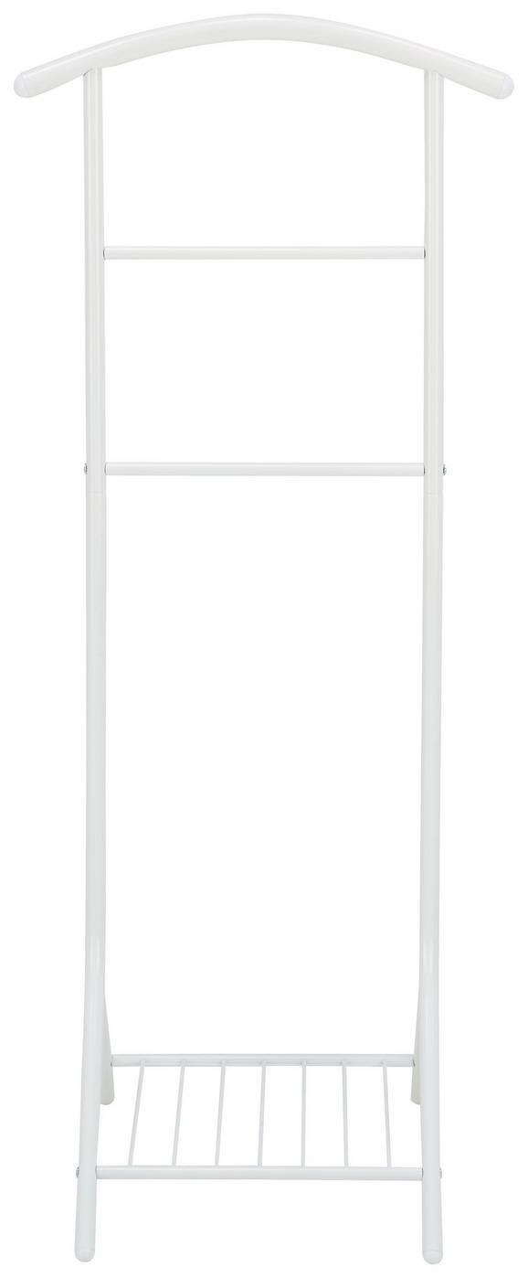 Stojalo Za Obleke Dalia - bela, Moderno, kovina (47/112/41cm) - Mömax modern living