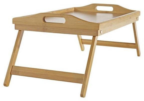 Serviertablett Bambus - Braun, KONVENTIONELL, Holz (30/50cm)