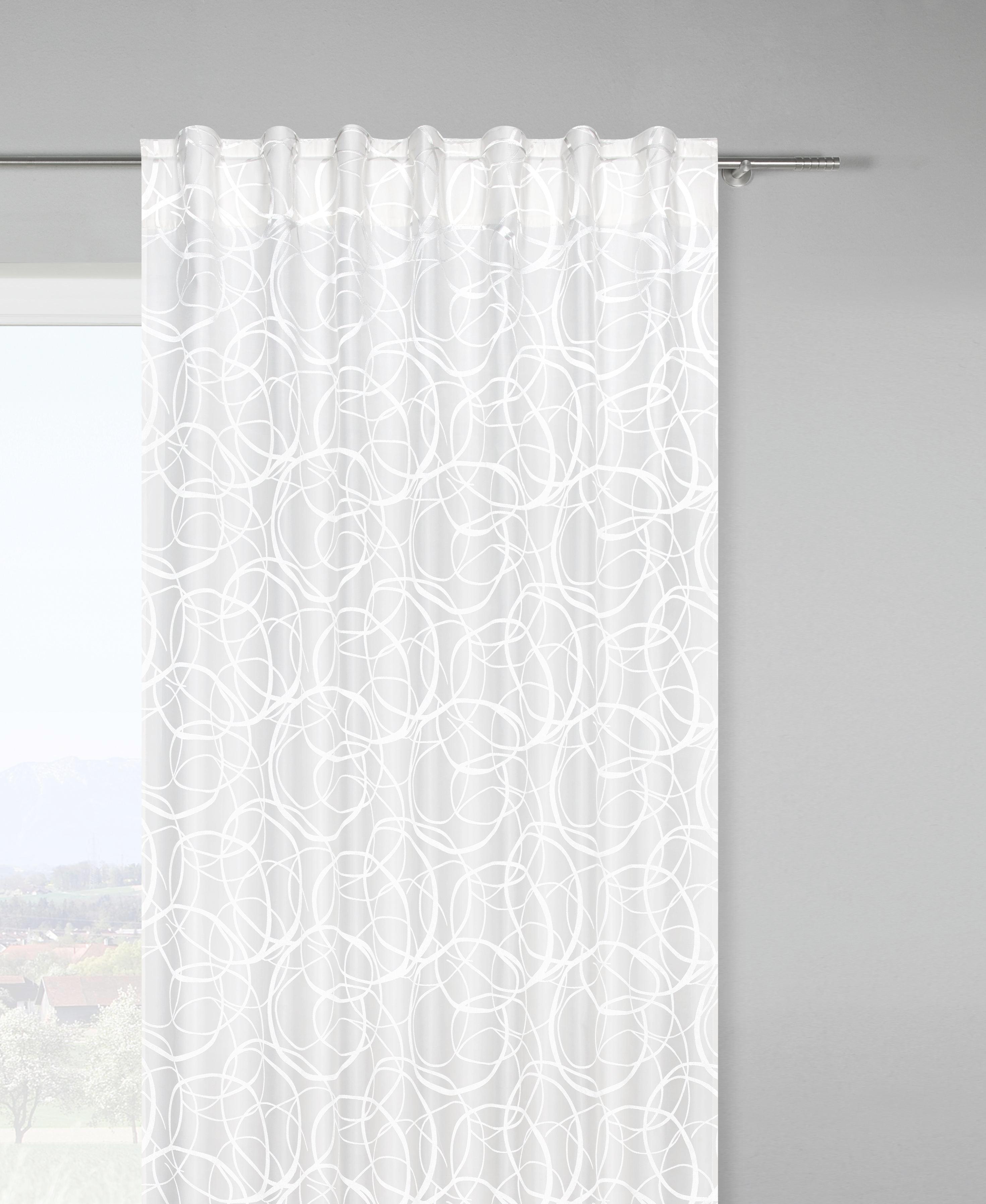 Schlaufenschal Marlene, ca. 140x245cm - Weiß, KONVENTIONELL, Textil (140/245cm) - MÖMAX modern living