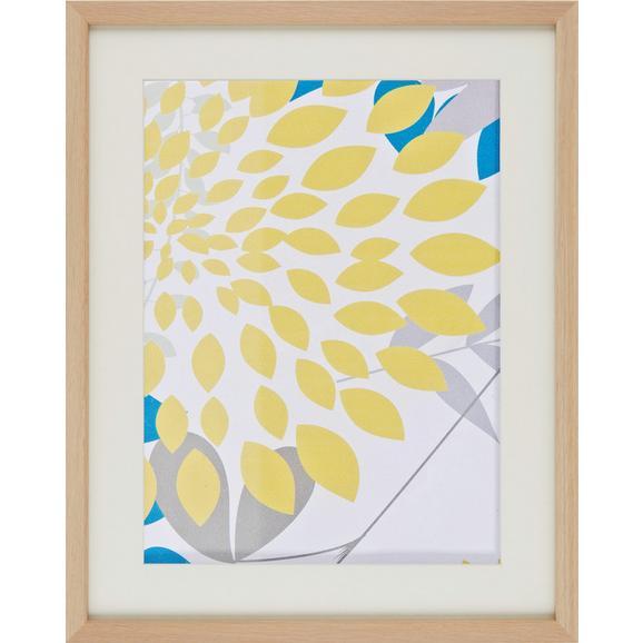 Bilderrahmen Gitta, ca. 40x50cm - Eichefarben, Glas/Holz (40/50/3,6cm) - Mömax modern living