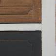Kredenz Florina - Braun/Weiß, MODERN, Holz/Metall (75,5/175/32cm) - Modern Living