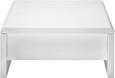 Couchtisch Weiß Hochglanz - Weiß, MODERN, Holzwerkstoff/Metall (75/35/75cm) - Mömax modern living