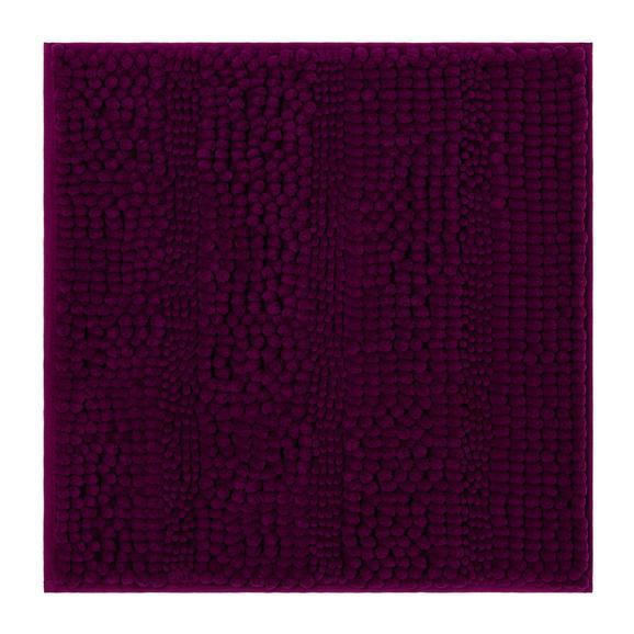 Fürdőszobaszőnyeg Uwe - Magenta, Textil (50/50cm) - Based