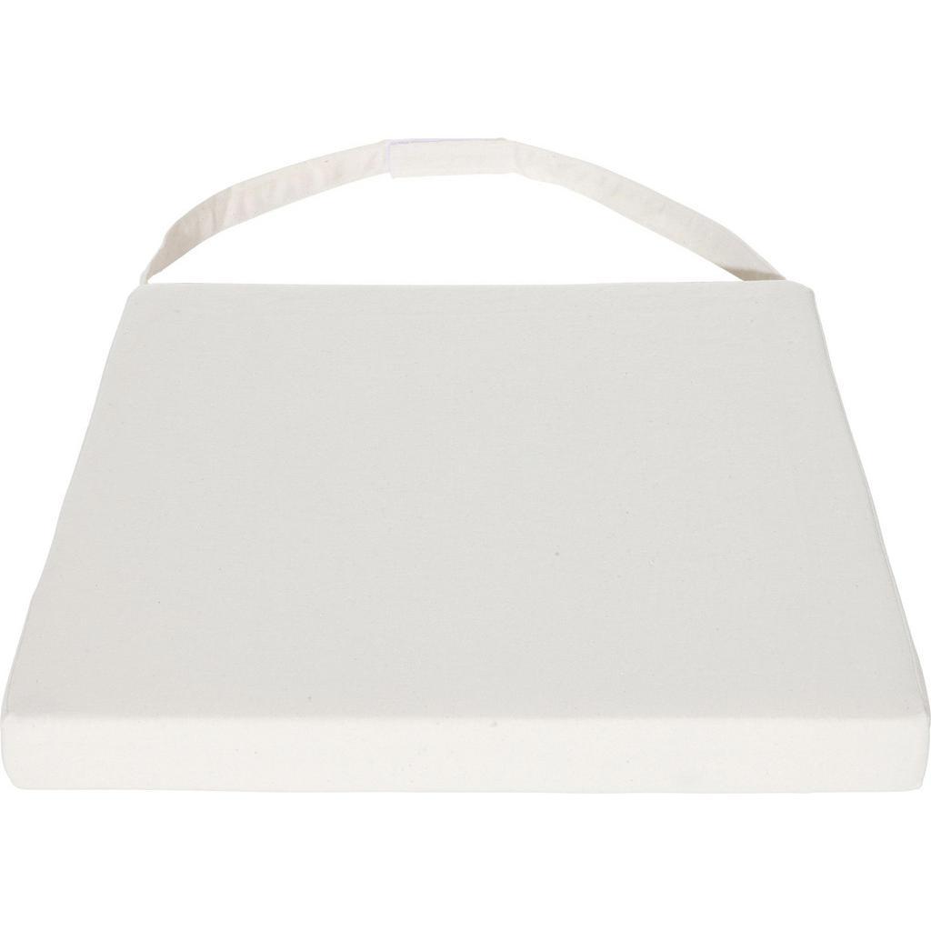 Sitzkissen Industry in Weiß ca.45x5x45cm