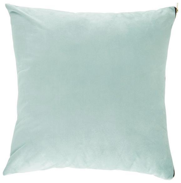 Zierkissen Zoe in Hellgrün, ca. 60x60cm - Hellgrün, MODERN, Textil (60/60cm) - Premium Living