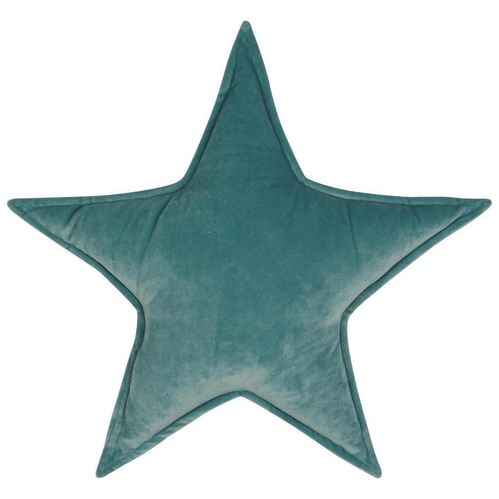 ZIERKISSEN Star in verschiednen Farben