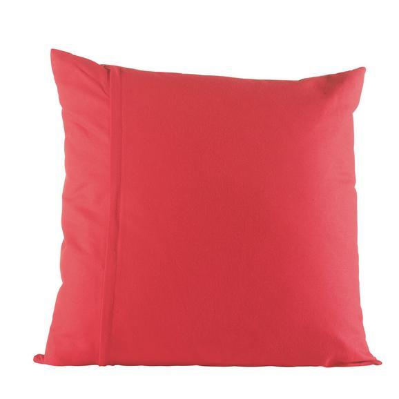 Zierkissen Zippmex in Rot ca. 50x50cm - Rot, Textil (50/50cm) - Based