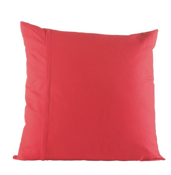 Zierkissen Zippmex Rot ca. 50x50cm - Rot, Textil (50/50cm) - Based