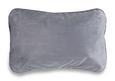 Potovalni Vzglavnik Sandra - petrolej/siva, umetna masa/tekstil (40/25cm) - Mömax modern living