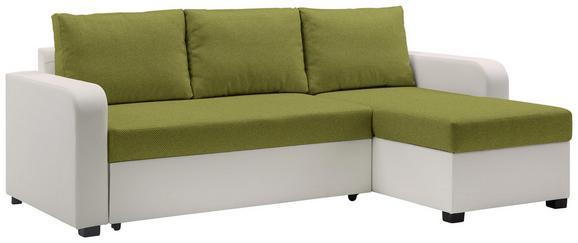 Sedežna Garnitura Clint - siva/črna, Konvencionalno, umetna masa/tekstil (225/71-83/152cm) - Modern Living