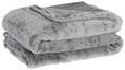 Kuscheldecke Leon Hellgrau 130x180cm - Hellgrau, Textil (130/180cm) - Mömax modern living