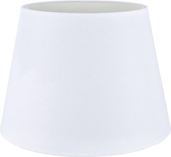 Lámpaernyő Selina - Fehér, Fém/Textil (35/25cm) - Mömax modern living