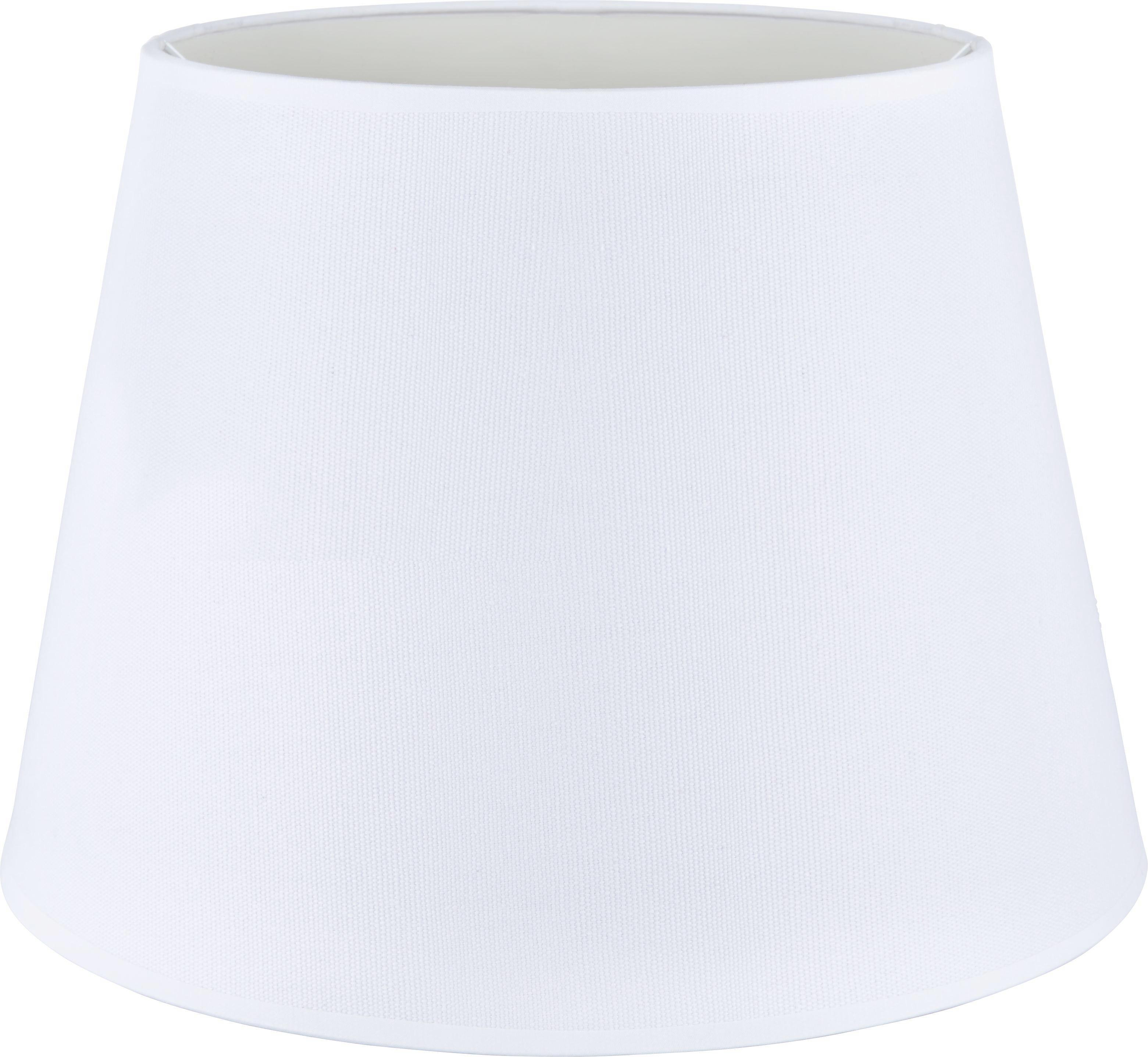 Lámpaernyő Selina - fehér, textil/fém (35/25cm) - MÖMAX modern living