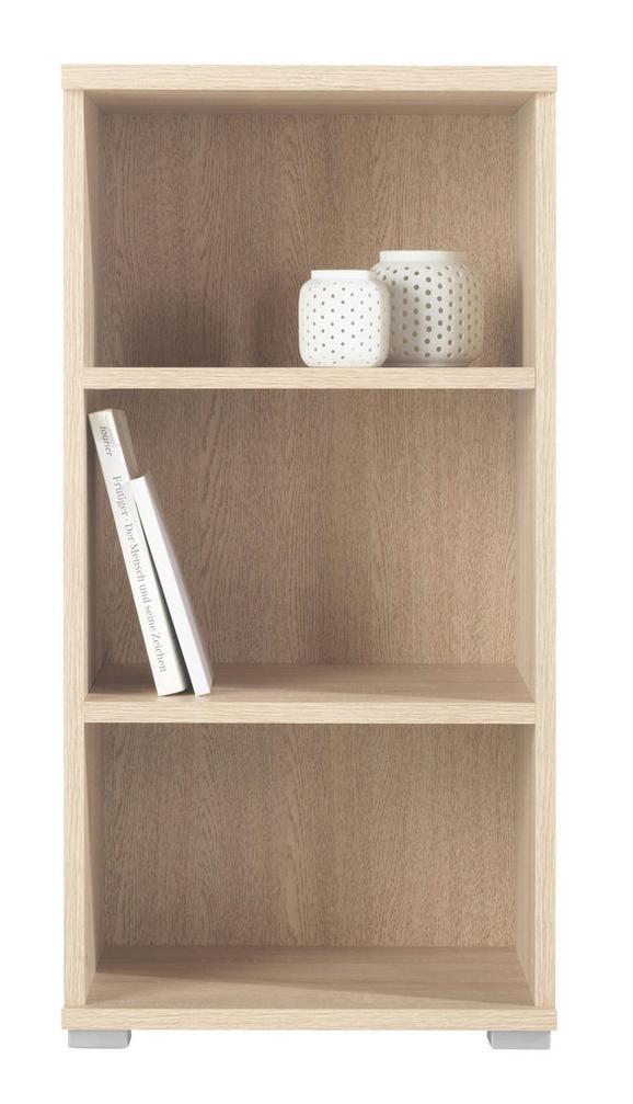 Regal Fura/foxx - hrast, leseni material (44/86/37cm)