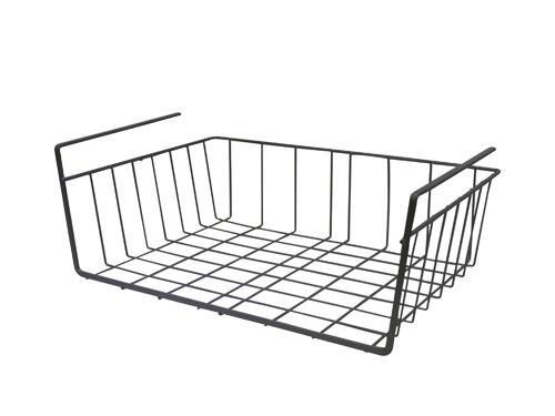 Regalkorb in Grau - Grau, Metall (39/14/25cm) - Mömax modern living