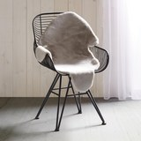 Kunstfell Marlene - Grau, Textil (90/60cm) - Mömax modern living