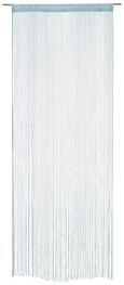 Fadenstore Matallic Verschiedene Farben - Weiß/Grau, LIFESTYLE, Textil (90/245cm) - Mömax modern living