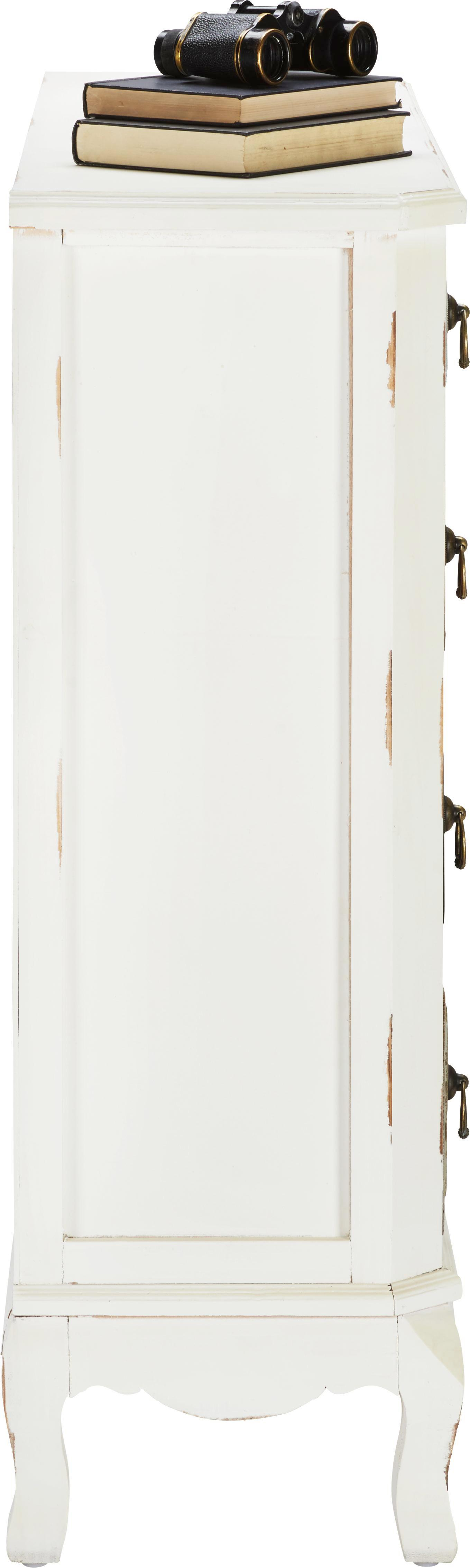 Kommode Florina - Schwarz/Braun, MODERN, Holz/Metall (101/95,5/31,5cm) - MÖMAX modern living