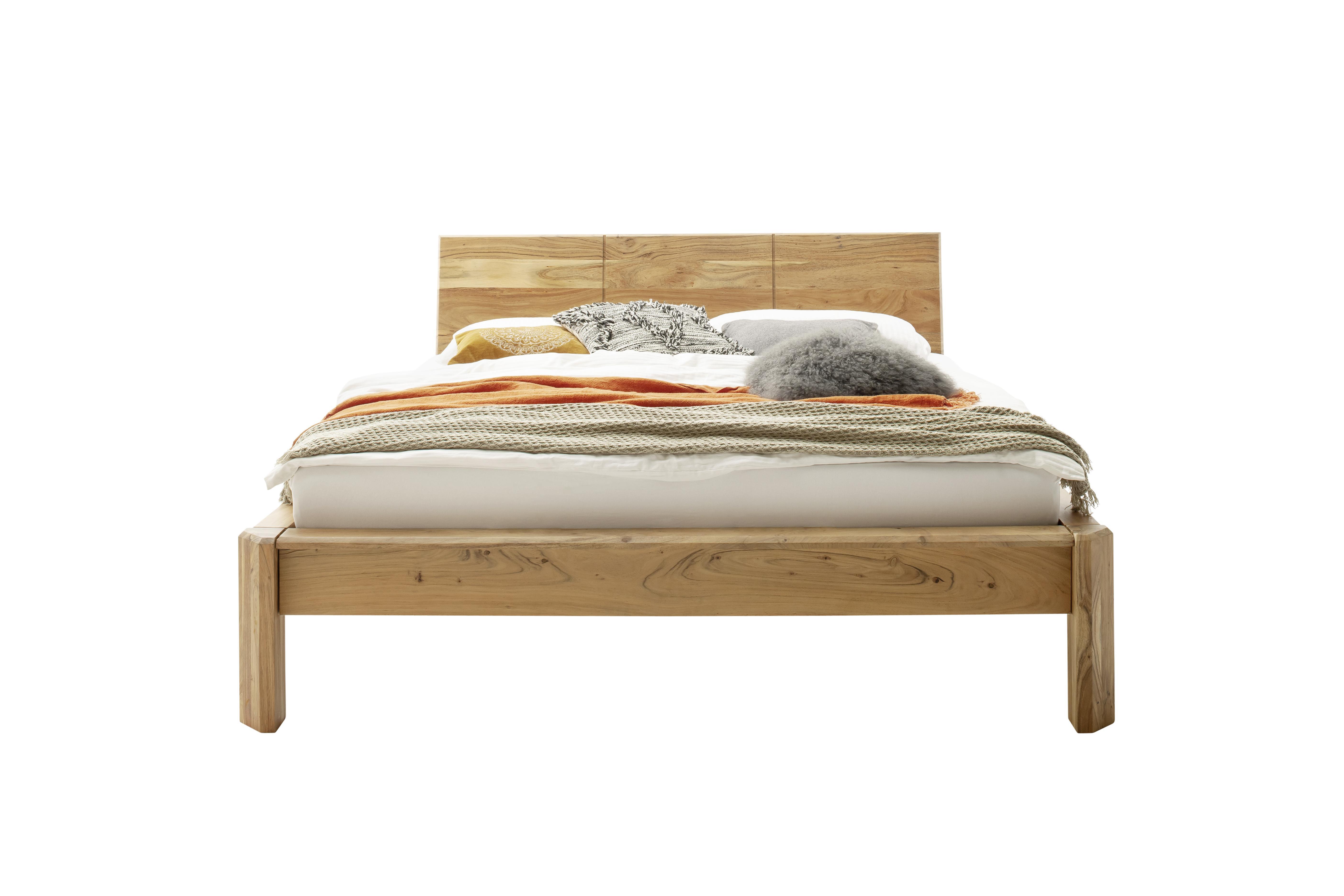 Image of Bett aus Akazie massiv
