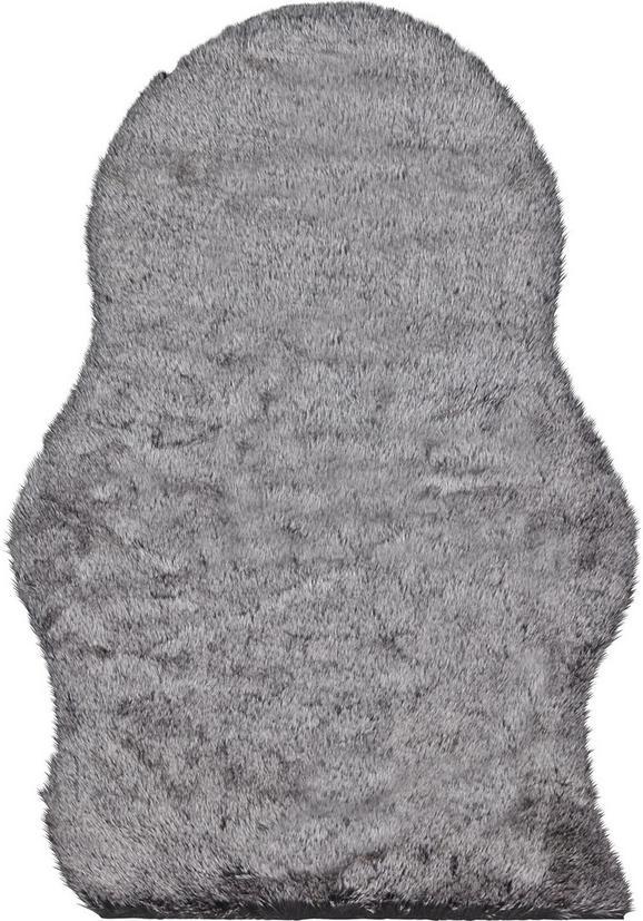 Kunstfell Annalena Grau 60x90cm - Grau, ROMANTIK / LANDHAUS, Textil (60/90cm) - Mömax modern living