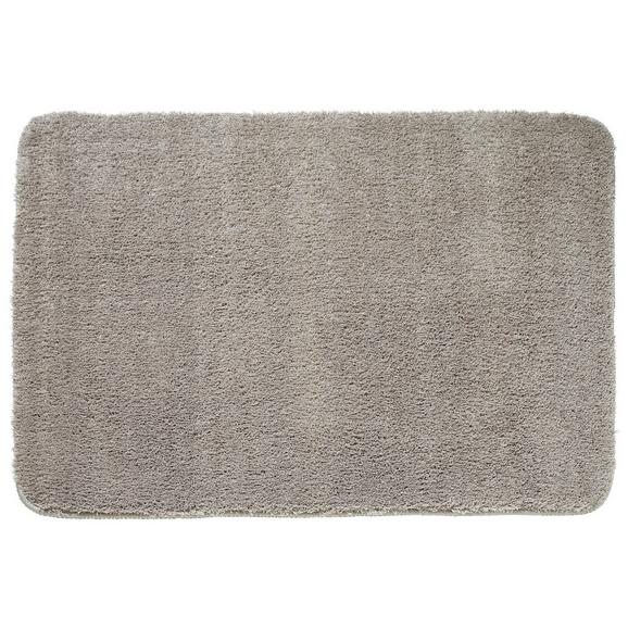 Badematte Taupe - Taupe, MODERN, Textil (60/90cm) - Premium Living