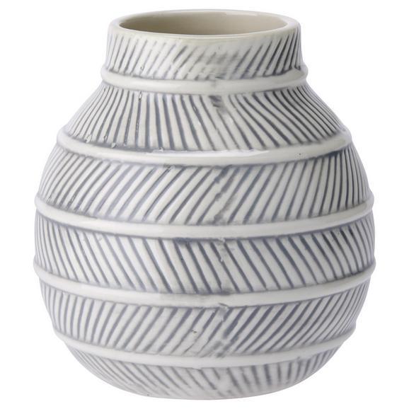 Vase Finn Weiß - Weiß, Keramik (11,5/12cm) - Mömax modern living
