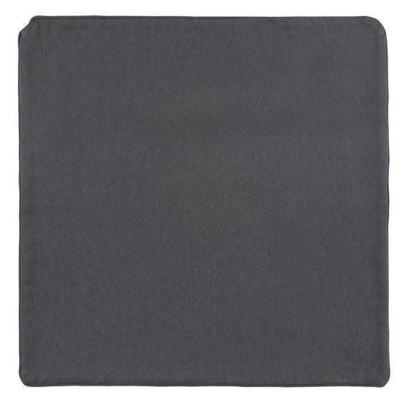 Párnahuzat Steffi - Antracit, Textil (40/40cm) - Mömax modern living