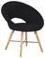 Sessel in Schwarz - Eichefarben/Schwarz, MODERN, Holz/Textil (60/78/70cm) - Modern Living
