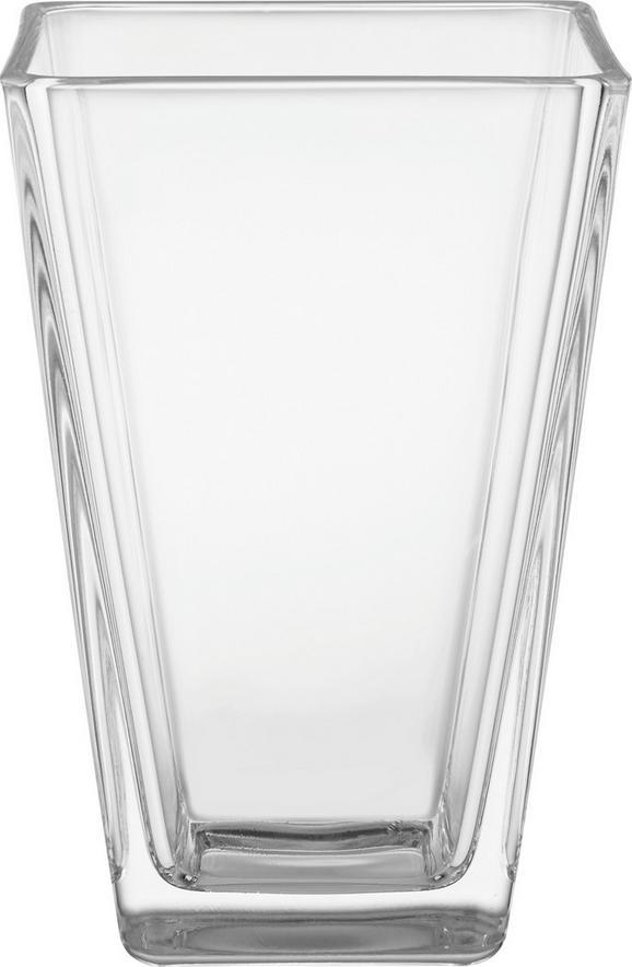 Váza Mona - Átlátszó, modern, Üveg (11/17/11cm) - Based