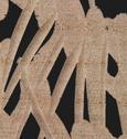 Dekozebra Steve H ca. 173 cm - Schwarz/Weiß, MODERN, Holz/Holzwerkstoff (50/15/173cm) - Premium Living