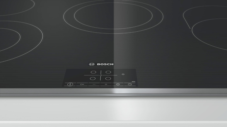 Glaskeramikkochfeld Bosch Pkh845b17, 4 Kochzonen - KONVENTIONELL, Glas/Metall (79,5/4,8/51,7cm) - BOSCH