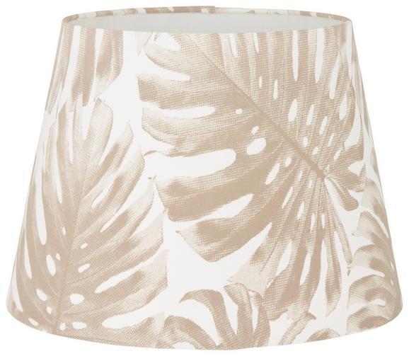 Leuchtenschirm Phil in Weiß - Weiß, MODERN, Textil/Metall (16,5-20/15,6/cm) - Mömax modern living