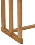 Handtuchhalter Mirella - Buchefarben, MODERN, Holz (48/80/16cm) - Modern Living