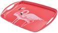 Serviertablett Flamingo Couple Pink - Pink, Trend, Kunststoff (46/32/5cm) - Mömax modern living