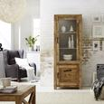 Vitrină Industry - culoare natur, Lifestyle, lemn (67/180/42cm) - Zandiara