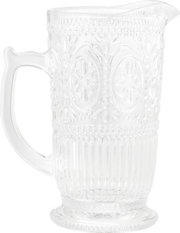 Glaskrug Remy aus Glas, ca. 1375ml - Klar, ROMANTIK / LANDHAUS, Glas (12-18/22,8cm) - Zandiara