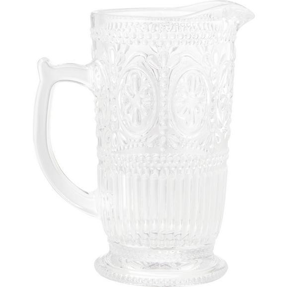 Glaskrug Remy aus Glas ca. 1375ml - Klar, ROMANTIK / LANDHAUS, Glas (12-18/22,8cm) - Zandiara