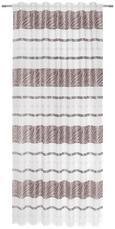 Fertigvorhang Anita Grau 140x245cm - Grau, KONVENTIONELL, Textil (140/245cm) - Mömax modern living