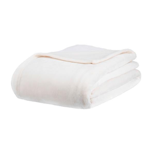Pătură Pufoasă Kuschelix - alb, textil (140/200cm) - Modern Living