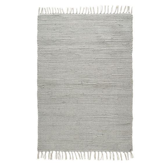 Fleckerlteppich Julia in Grau ca. 70x130 cm - Grau, ROMANTIK / LANDHAUS, Textil (70/130cm) - Mömax modern living