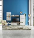 Webteppich Bombay 160x230cm - Schwarz/Weiß, Textil (160/230cm) - Mömax modern living