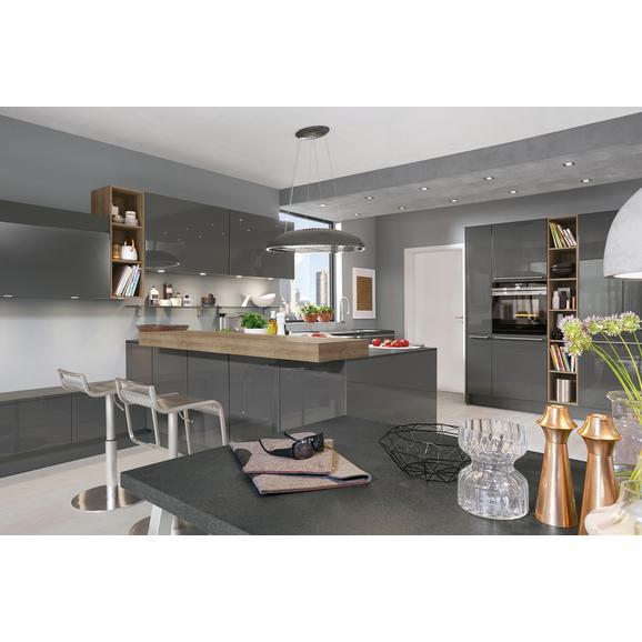 Vgradna Kuhinja Lux - skrilavec, Moderno, kovina/leseni material