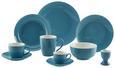 Kaffeetasse mit Untertasse Sandy Blau aus Keramik - Blau, KONVENTIONELL, Keramik (5/6,9cm) - Mömax modern living