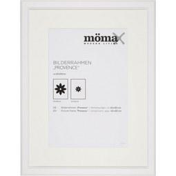 Bilderrahmen Provence, ca. 60x80cm - Weiß, ROMANTIK / LANDHAUS, Glas/Holz (60/80/1,5cm) - Mömax modern living