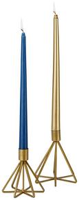 Kerzenhalter Stella Goldfarben - Goldfarben, Metall (12,5/11/13,20cm) - Mömax modern living