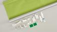 Klemmrollo Thermo Grün ca. 75x150cm - Grün, Textil (75/150cm) - Premium Living